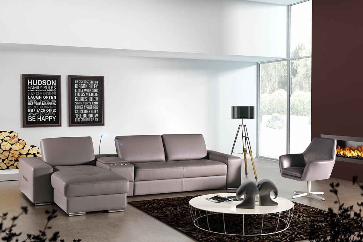 barek nowoczesna sofa z barkiem