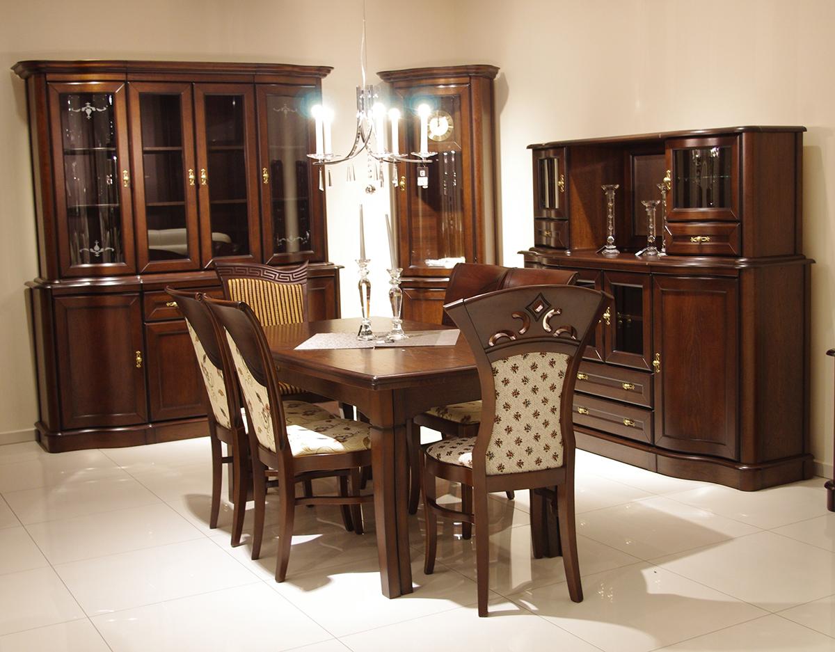 diament xl stół klasyczny drewniany