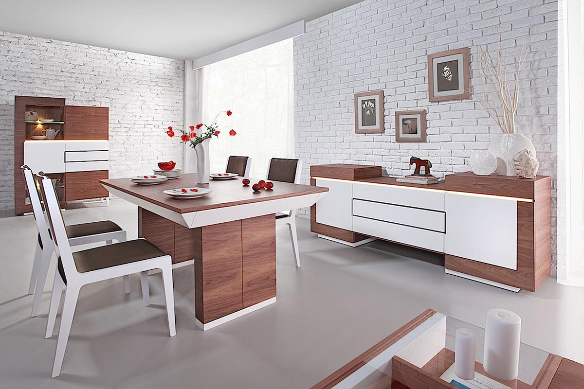 future line nowoczesny stół prosta forma