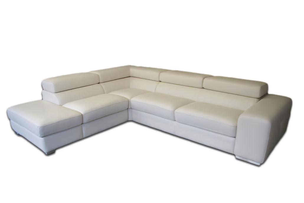 galaxy biały narożnik sofa ze spaniem