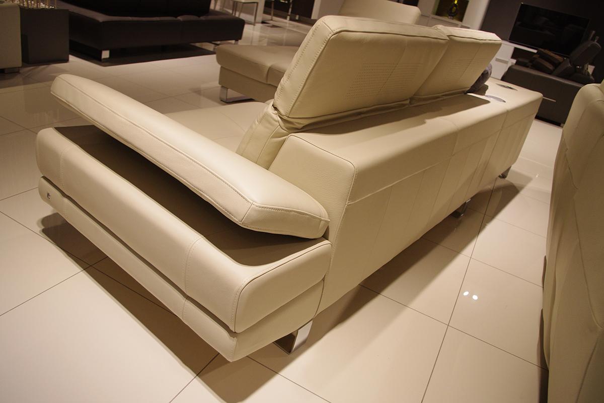 goya sofa z regulowanym oparciem bocznym