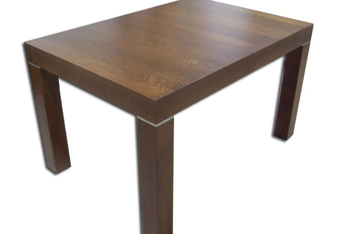 kalifornia stół drewniany okleina orzech