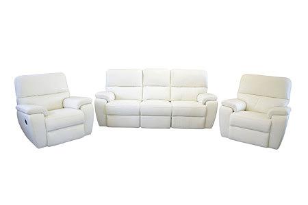 marco nowoczesny komplet wypoczynkowy sofa fotele skórzane