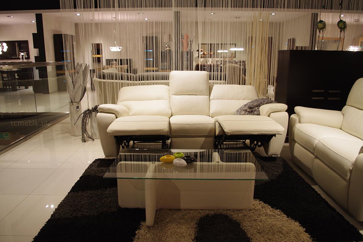 marco sofa skórzana z funkcją relaxu