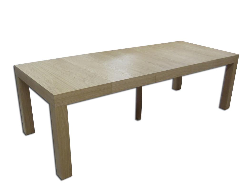 mezzo stół dębowy okleinowany duży rozkładany