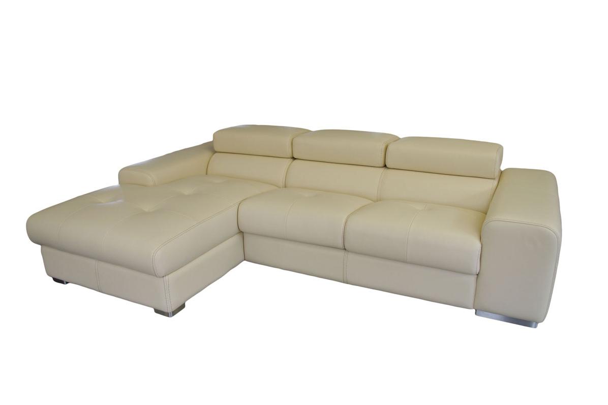 oxford wypoczynek skórzany kolor biały