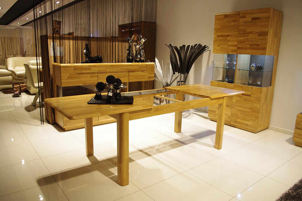palermo stół dębowy z możliwością rozkładania