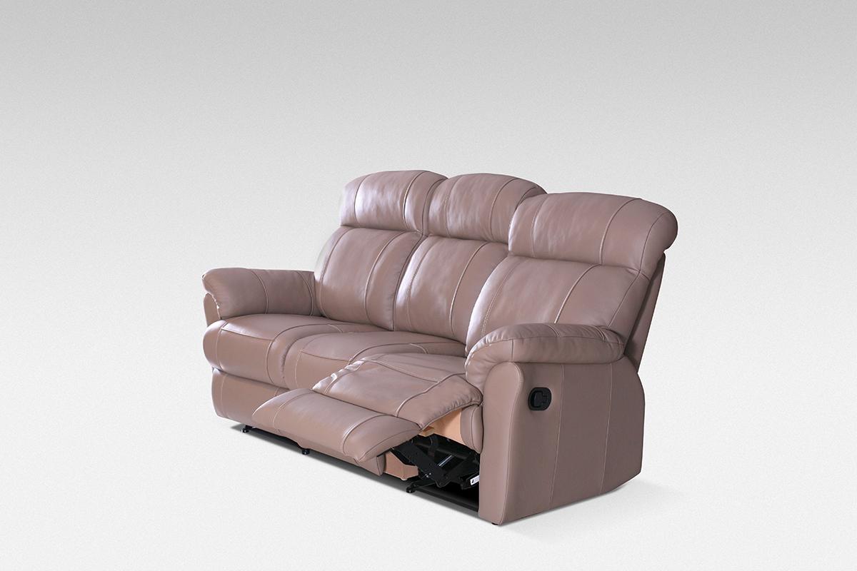 relax sofa skórzanaz funkcją relax