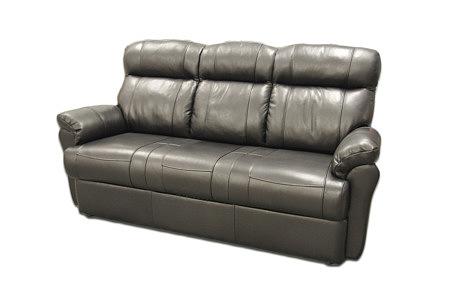 relax3 kanapa trzyosobowa czarna skórzana