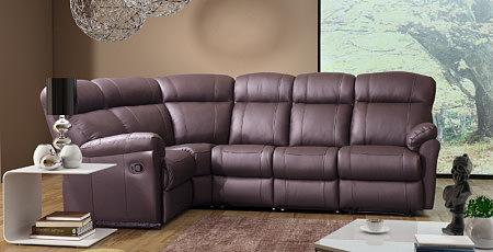 relax3 sofa skórzana narożnik z funkcją relax
