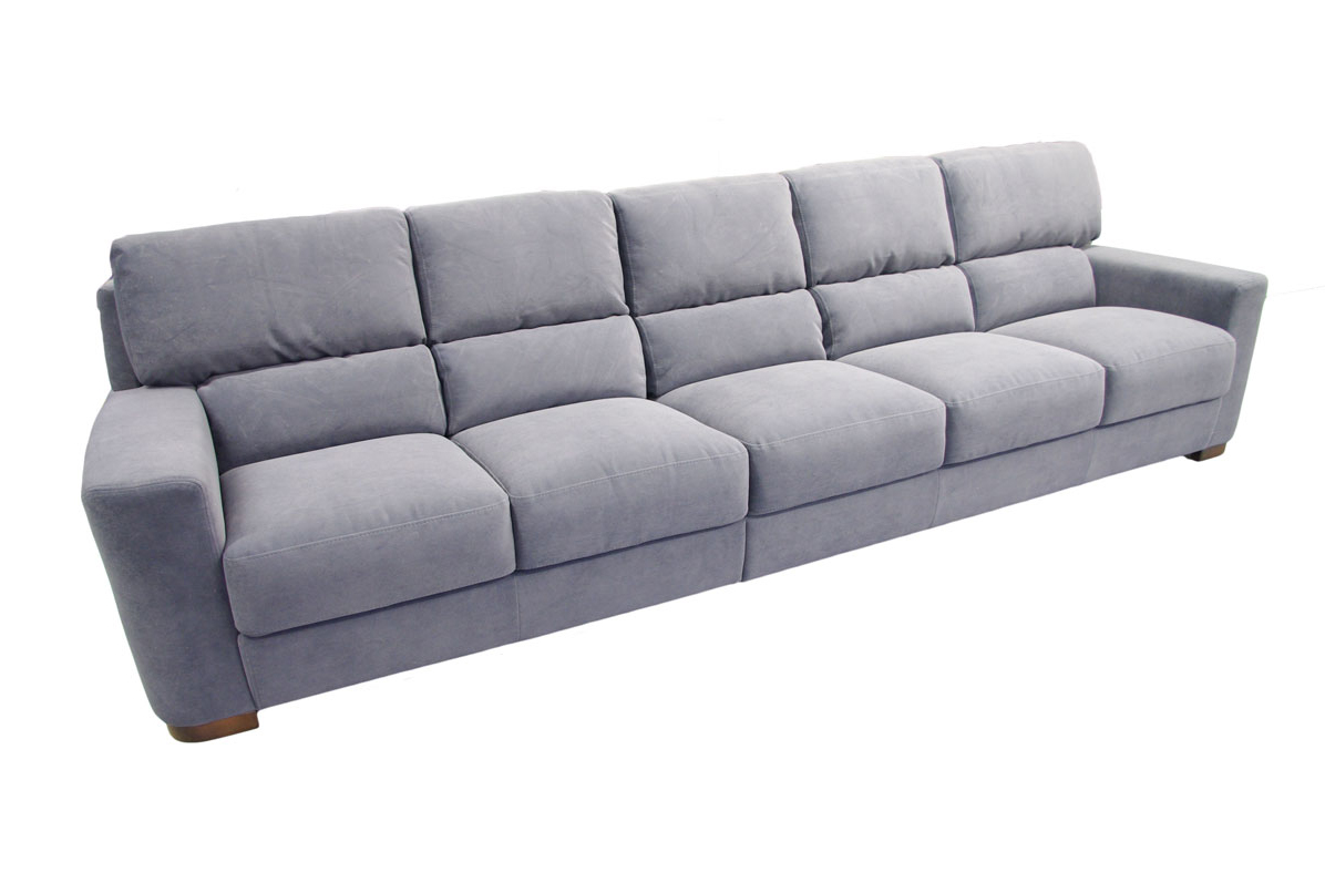 Sara1 du a szara sofa pi cioosobowa tkanina carabu tc for Edit 03 sofa