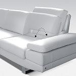 sofa regulowane oparcie