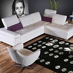 sofa z podnoszonymi zagłówkami