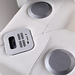 sofa z systemem audio