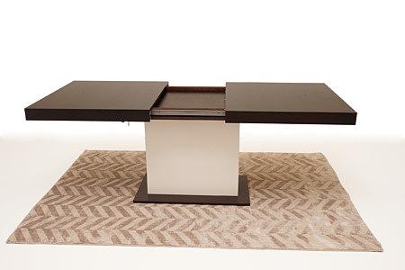 Tau rozkładany stół nowoczesny do salonu jedna noga