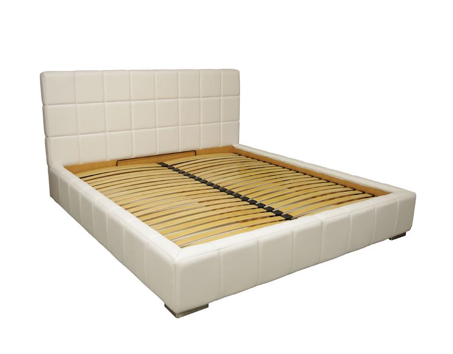 torino łóżko do sypialni kremowe