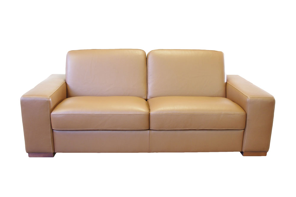 vesta nowoczesna sofa skórzana