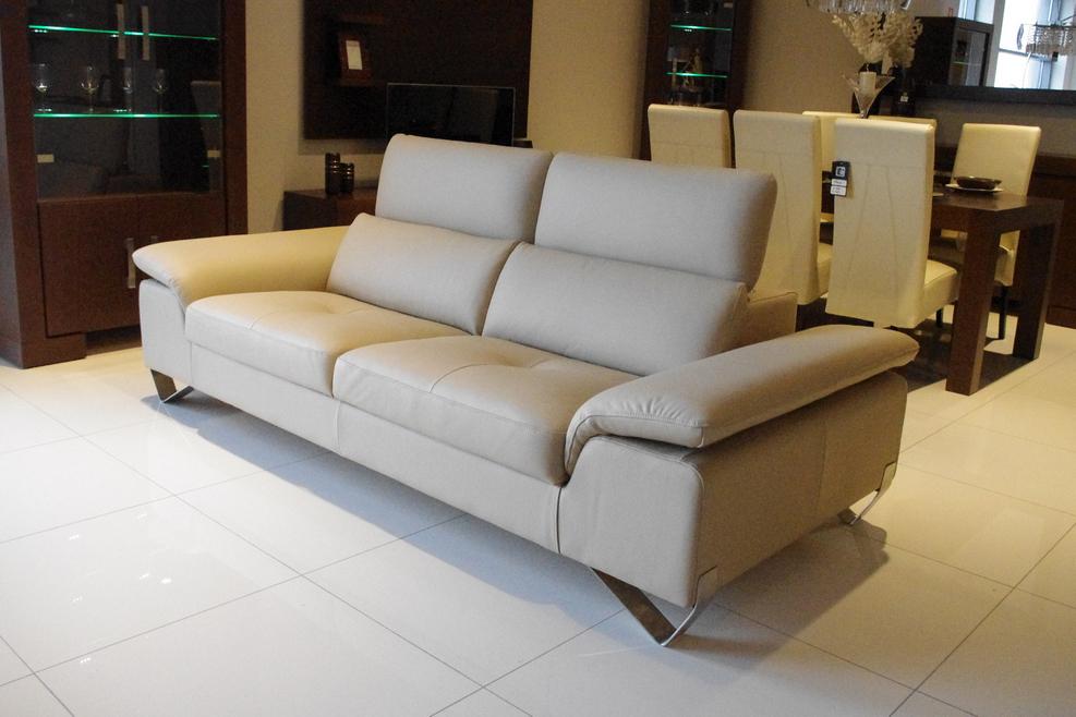 volare nowoczesna sofa skórzana