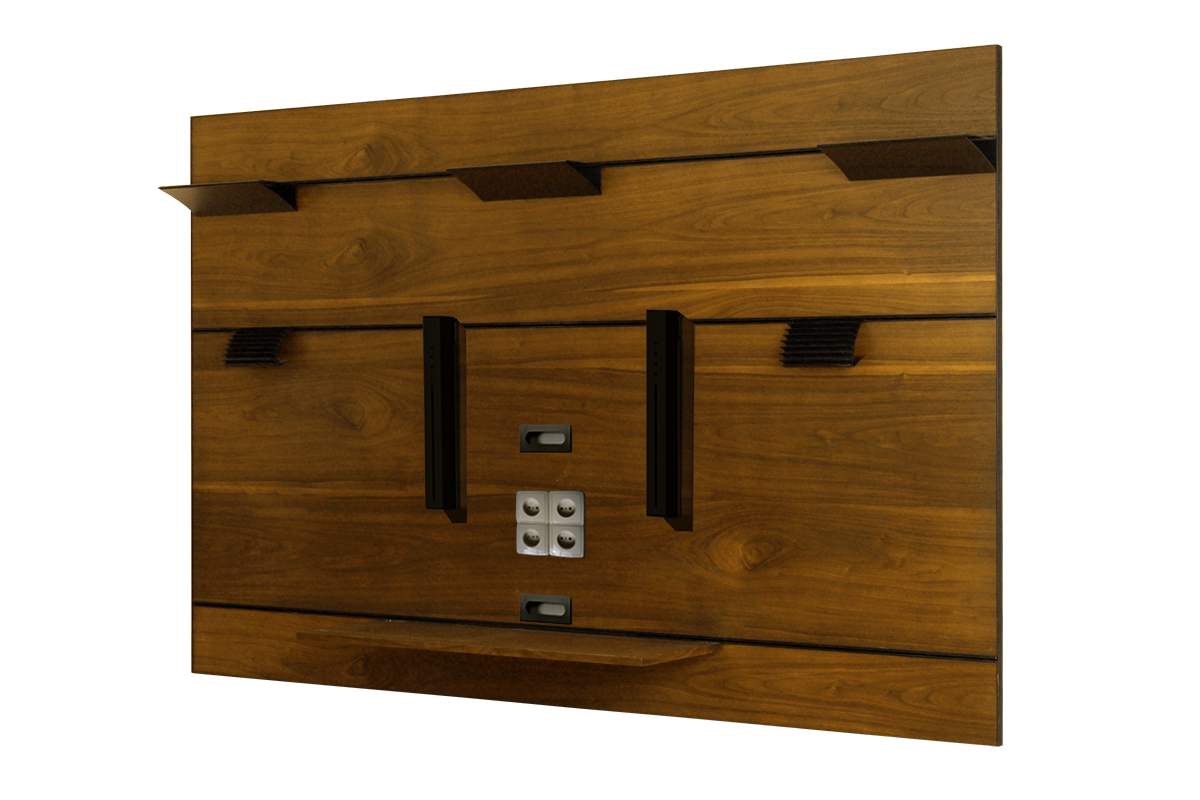 cassetti półka wisząca na telewizor