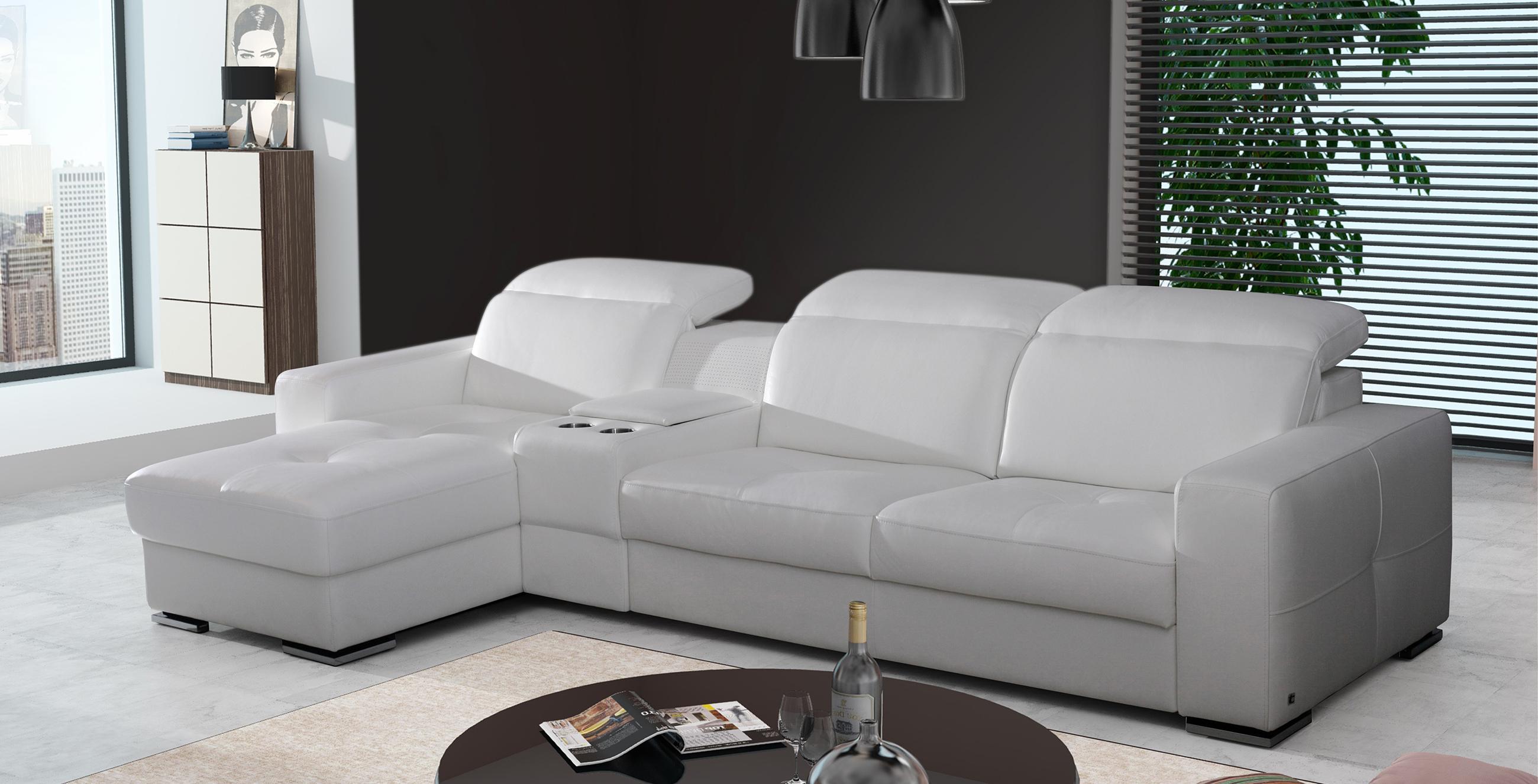 genua meble wypoczynkowe sofa narożnik mini