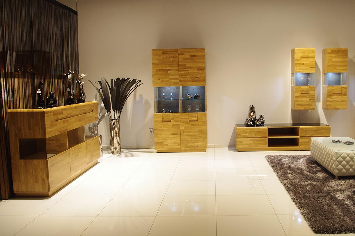 palermo meble do salonu z drewna dębowego