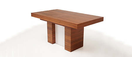 Heros monumentalny stół do jadalni orzech amerykański