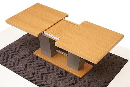 Cyprian2 piękny i funkcjonalny rozkładany stół do jadalni