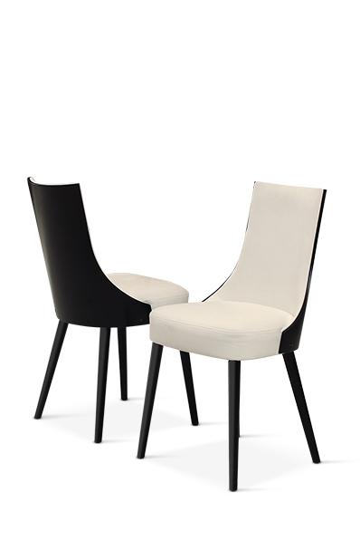 Lethendy krzesła do nowoczesnej jadalni salonu