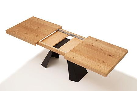 A4 industrialny stół do nowoczesnej jadalni lub salonu