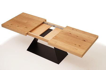 A5 stół rozkładany z blatem z drewna dębowego