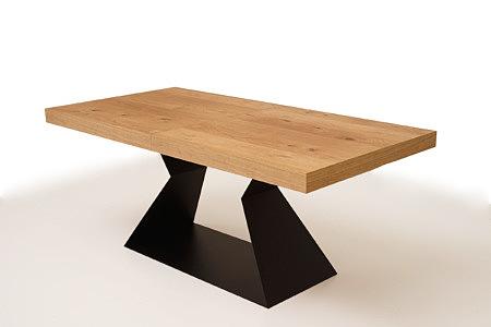 A9 solidny stół z grubym blatem do nowoczesnej jadalni