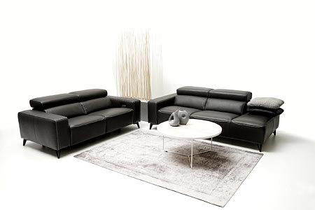 Longo nowoczesne sofy w aranżacji nowoczesnego salonu