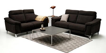 Bolero2 dwie nowoczesne brązowe sofy do eleganckiego salonu