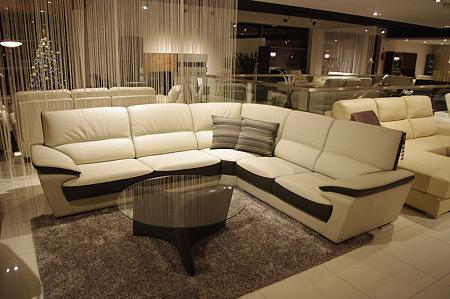 adria duża sofa narożnik do salonu