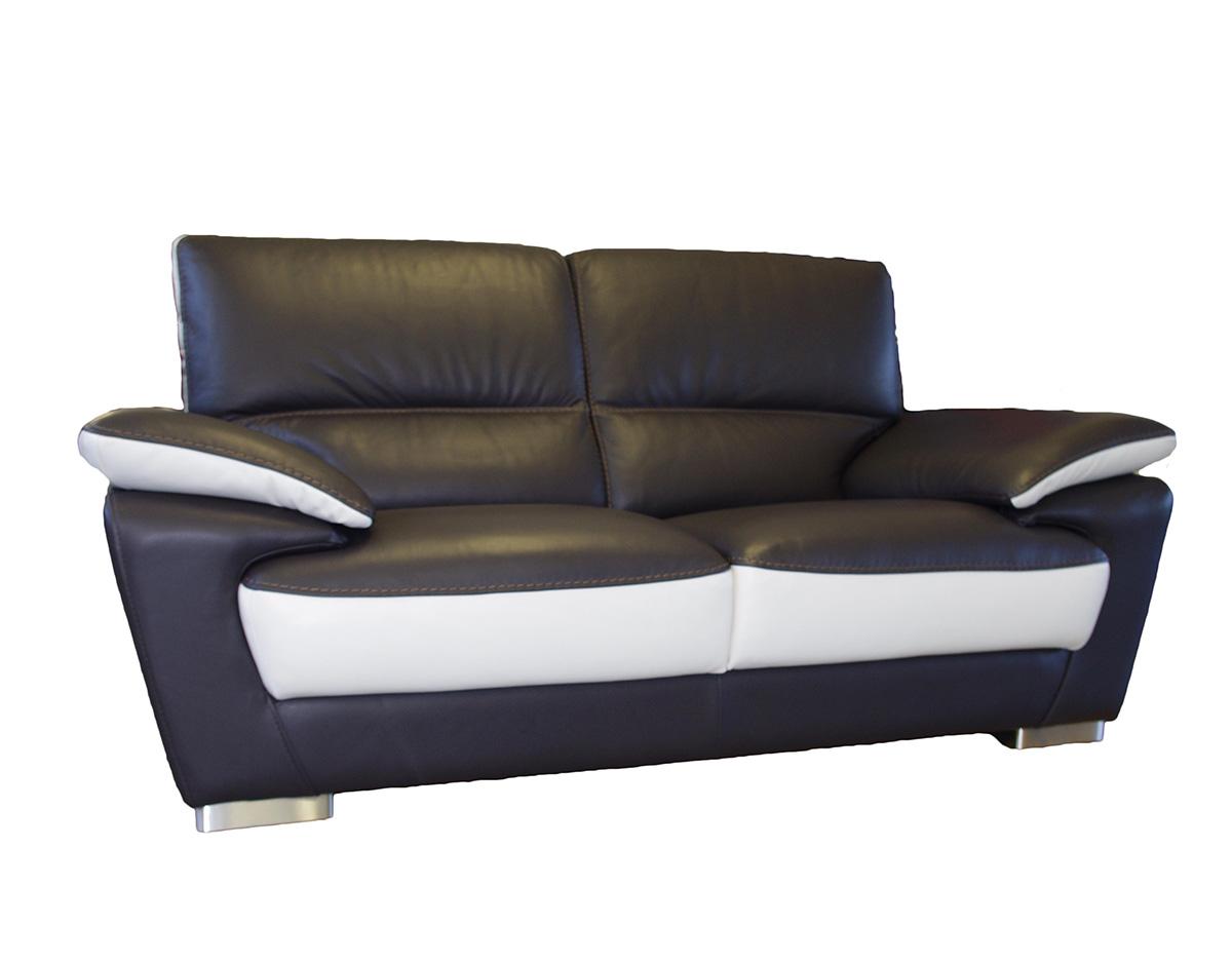 adria sofa czarno-biała