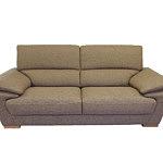adria sofa tapicerowana materiałem szara