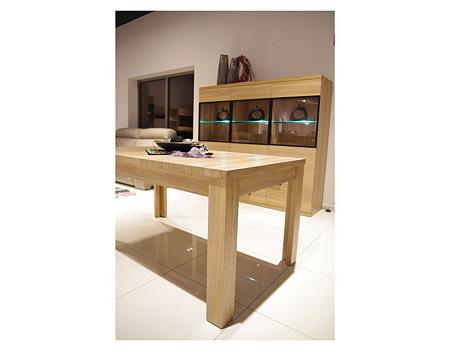 Alfa drewniane nogi stół z drewna dębu