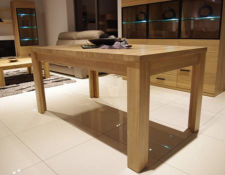 Alfa stół dębowy z drewna litego