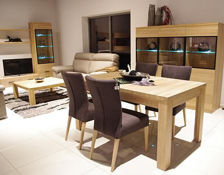 alfa stół drewniany drewno dąb