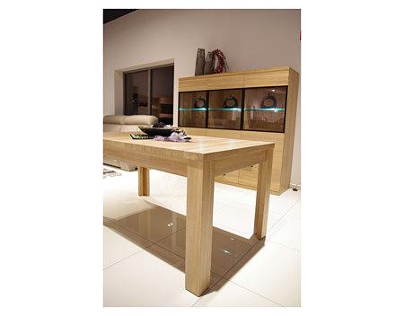 alfa stół drewniany grube drewniane nogi