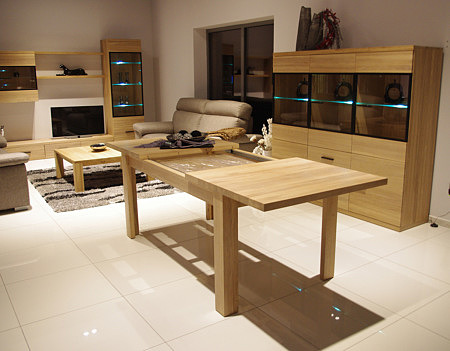 alfa stół drewniany z możliwością rozkładania