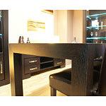 Barcelona stół czarny venge okleina