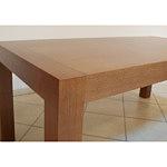 Barcelona stół drewniany dąb okleina