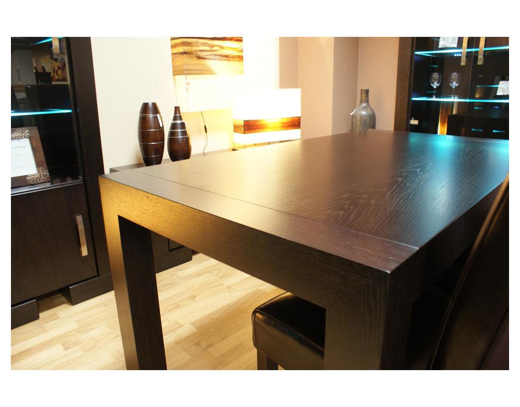 barcelona stół okleinowany czarny dąb