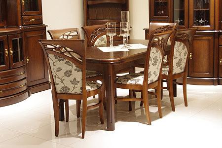 brylant stół klasyczny z zaokrąglonymi narożnikami