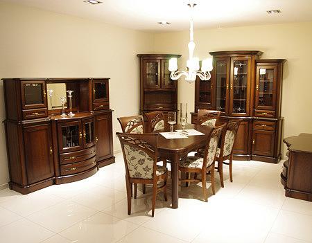 brylant stół okleina elementy z drewna
