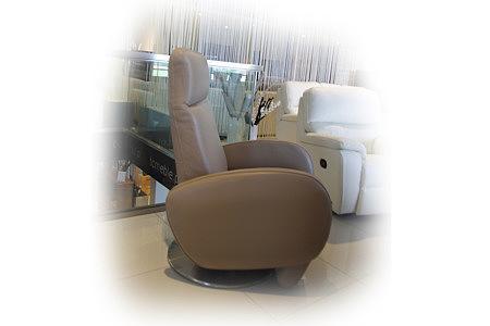 Capri fotel skórzany rozkładany elektrycznie i manualnie