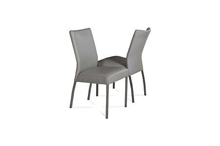 Carla1 krzesła do jadalni w stalowym szarym kolorze
