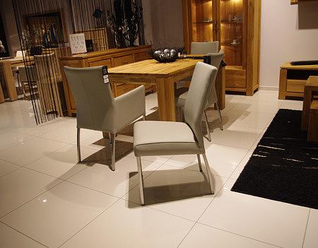 carla1 skórzane metalowe krzesła do salonu