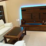 Casetti ława drewniana nowoczesne meble do salonu